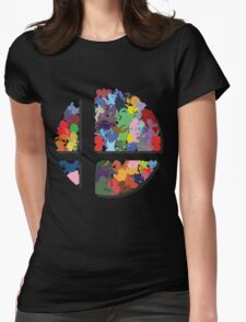 SMASH COLORS! Womens Fitted T-Shirt