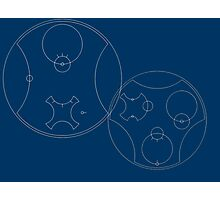Trust me, I'm the Doctor | Circular Gallifreyan Photographic Print
