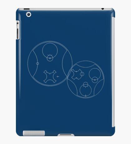 Trust me, I'm the Doctor | Circular Gallifreyan iPad Case/Skin