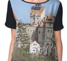 Dracula Castle in Transylvania Chiffon Top