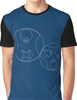 Trust me, I'm the Doctor | Circular Gallifreyan Graphic T-Shirt