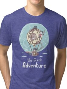 The Great Adventure Tri-blend T-Shirt