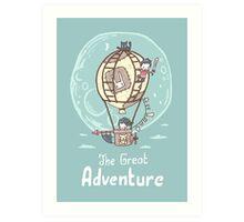The Great Adventure Art Print