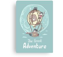 The Great Adventure Canvas Print