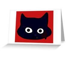 KuronekoGore Greeting Card