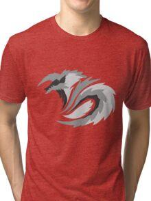 New Moon's Lightning - Stygian Jinouga Tri-blend T-Shirt