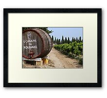 Provence Winery Framed Print