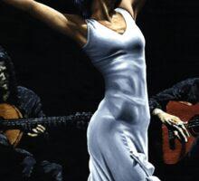Finale del funcionamiento del flamenco Sticker
