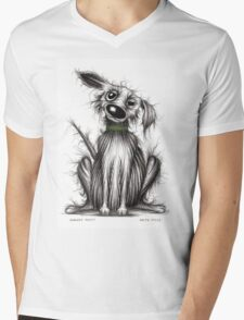 Scruffy mutt Mens V-Neck T-Shirt