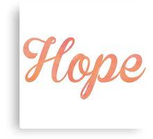 Hope Canvas Print