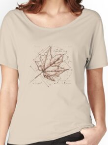 Fall, Deconstructed Women's Relaxed Fit T-Shirt