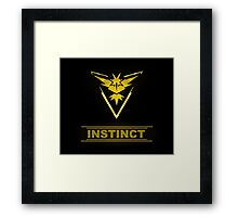 Pokemon Team Instinct Framed Print