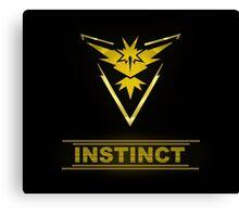 Pokemon Team Instinct Canvas Print