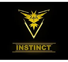 Pokemon Team Instinct Photographic Print