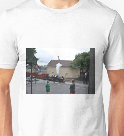 Miniture Train ride for kids at train museam Unisex T-Shirt