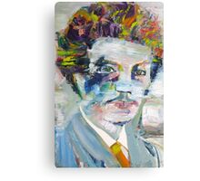RICHARD STRAUSS - oil portrait Canvas Print