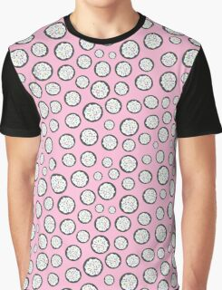 Chocolate Sugar Cookie Pattern On Pink Graphic T-Shirt