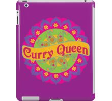 Ethnic Print Curry Queen Spicy Curries Food Addict iPad Case/Skin