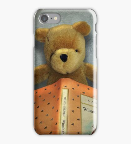 Winnie Reads Winnie iPhone Case/Skin