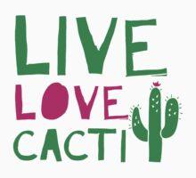 LIVE LOVE CACTI One Piece - Short Sleeve