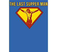 Jesus The Last Supper Man T Shirt Photographic Print