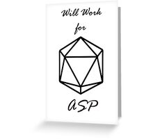 Astral Points  Greeting Card