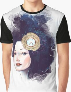 Face of Time Graphic T-Shirt