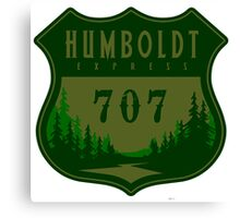 Humboldt Express 707 Canvas Print