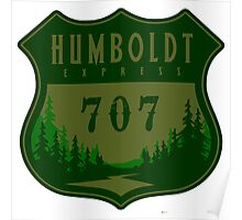 Humboldt Express 707 Poster
