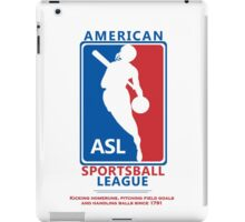 American Sportsball League iPad Case/Skin