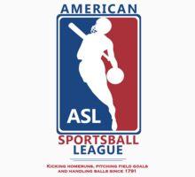 American Sportsball League by mistermunny