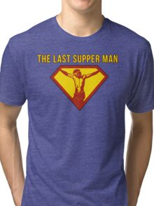 Jesus The Last Supper Man T Shirt Tri-blend T-Shirt