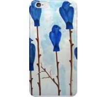 Blu Bird iPhone Case/Skin