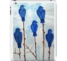 Blu Bird iPad Case/Skin