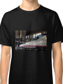 High speed train in Madrid Classic T-Shirt