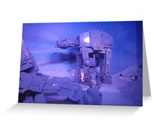 Lego - Hoth 2 Greeting Card