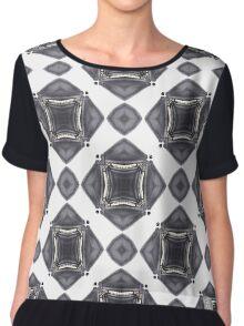 leather, subversive patterns Chiffon Top