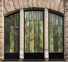Glass Panels And Stone Work ©  by © Hany G. Jadaa © Prince John Photography