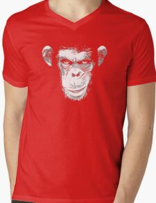 Cool Ape Mens V-Neck T-Shirt
