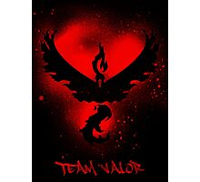 Team Valor Spray Photographic Print