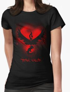 Team Valor Spray Womens Fitted T-Shirt