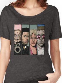 Arseface, Jesse, Tulip and Cassidy from Preacher Women's Relaxed Fit T-Shirt