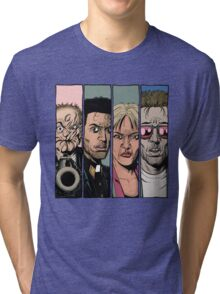 Arseface, Jesse, Tulip and Cassidy from Preacher Tri-blend T-Shirt