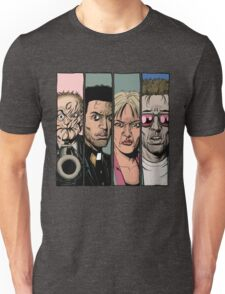Preacher :Arseface, Jesse, Tulip and Cassidy Unisex T-Shirt