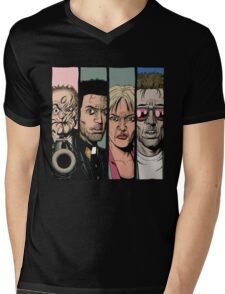Preacher :Arseface, Jesse, Tulip and Cassidy Mens V-Neck T-Shirt