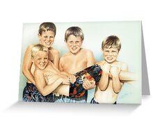 Beach Boys   3657 Greeting Card