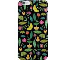 Flower Patch Dark iPhone Case/Skin