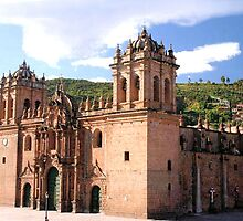 CUSCO BASILICA CATHEDRAL IN PERU by JAYMILO