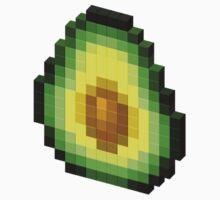 Pixel Avocado Baby Tee