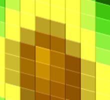 Pixel Avocado Sticker